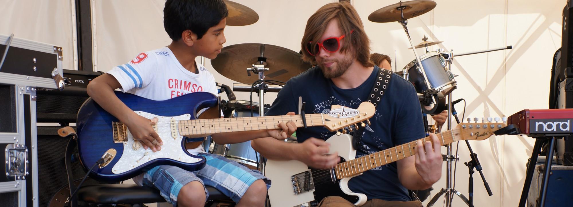 gitaarles leiden